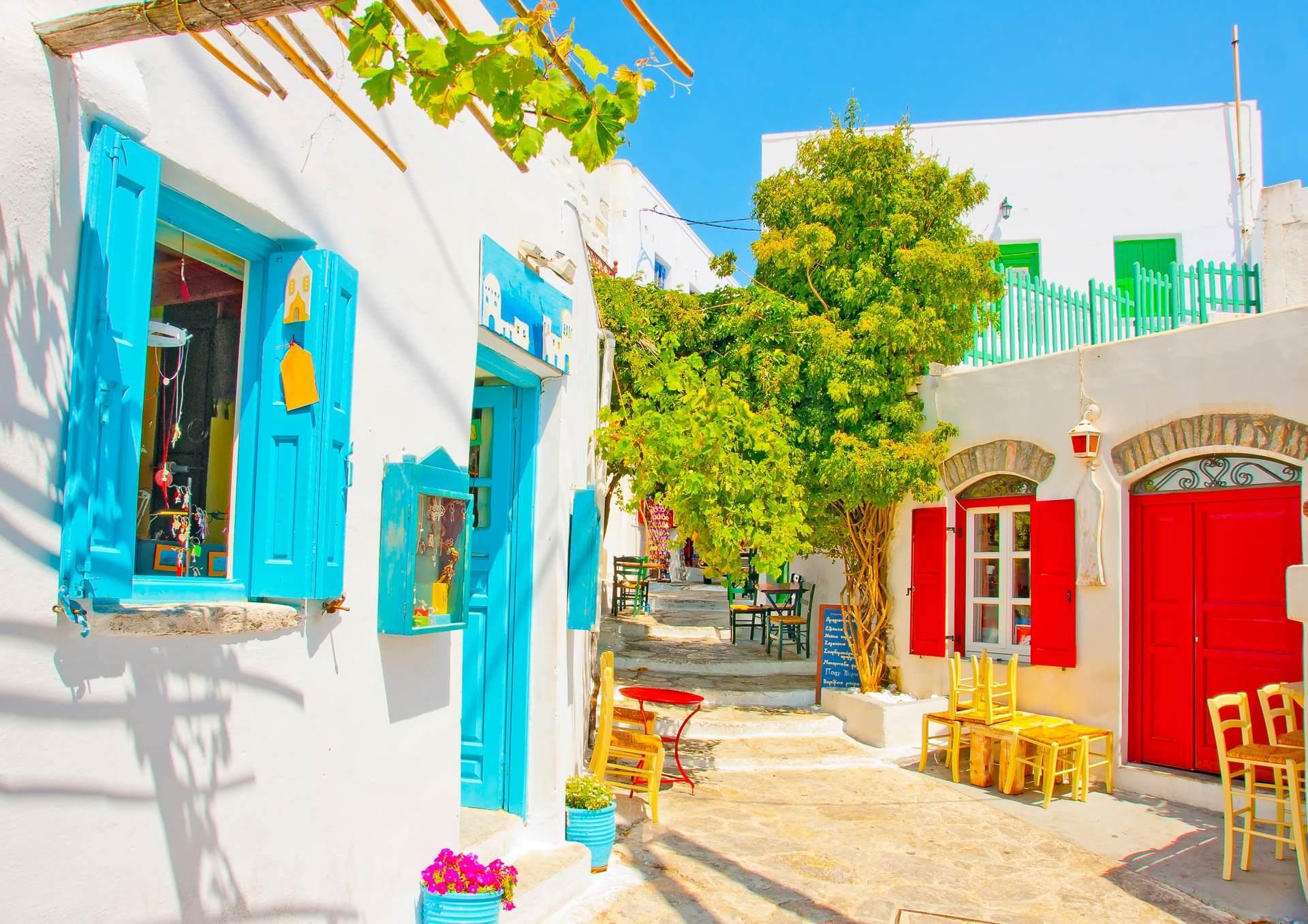 Travel to Amorgos